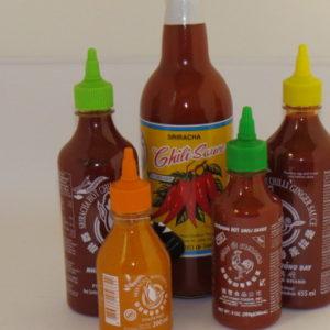 Sauces chili/sriracha